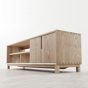 【厌式房间】实木原木电视柜客厅柜现代简约北欧日式 设计榫卯