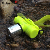 Package Q5T6 diving charging headlamp super light underwater waterproof diving flashlight white light yellow light L2 lighting