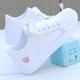 网面小白鞋女夏季透气镂空鞋子学生韩版百搭休闲鞋运动板鞋平底鞋