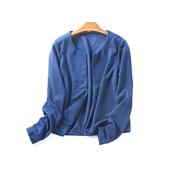 针织衫 短披肩外套3月12日 纯色长袖 春秋季新款 韩版 女开衫 39124
