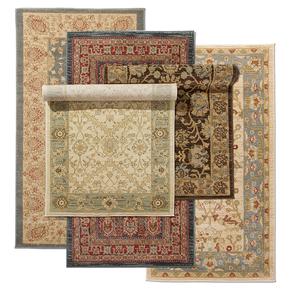 土耳其进口波斯图案 美式乡村客厅茶几毯 卧室床边毯 地毯包邮