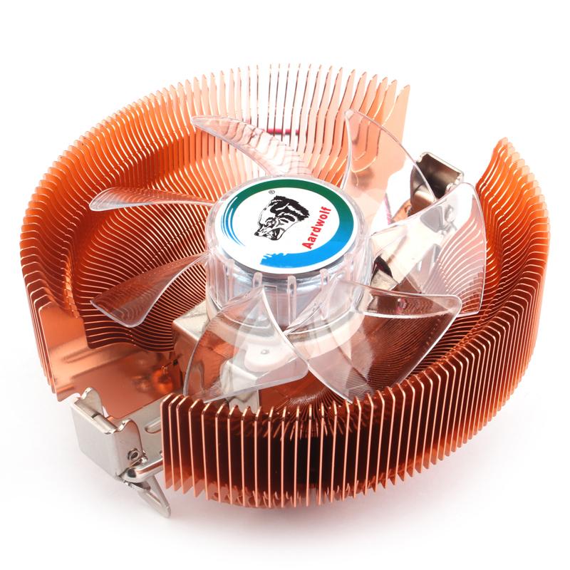 适用酷睿2四核Q8200 Q6600 Q8300 Q8400 Q9300CPU775针风扇散热器