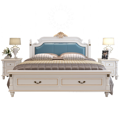 欧式床实木床全实木现代简约销量排行