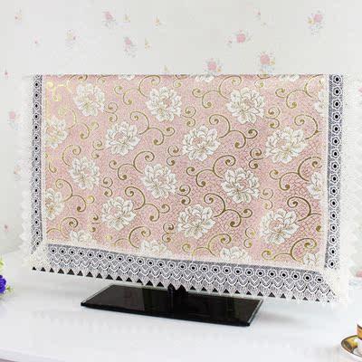 欧式高档液晶电视机罩42挂式50布艺47防尘罩60电视布盖布55 32寸
