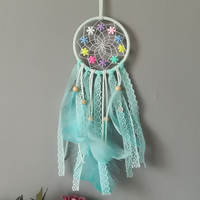 Dream catcher material diy manual class feather room creative blessing jewelry birthday gift ins wind car ornaments