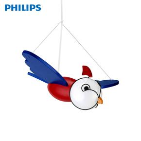 飞利浦吊灯儿童房灯具灯饰小飞侠卡通小鸟装饰创意单头温馨吊灯
