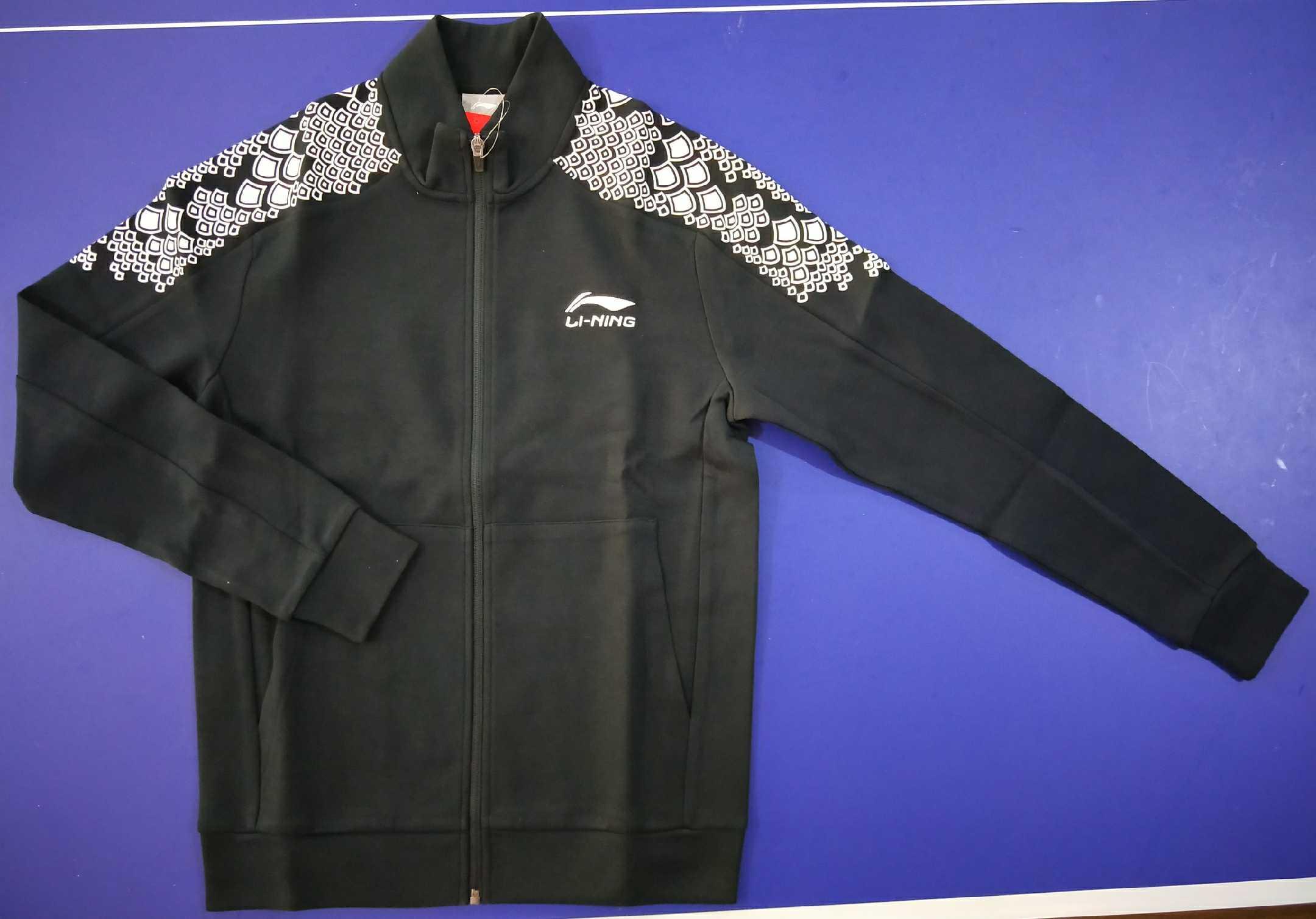 正品李宁乒乓球服运动卫衣卫裤AWDN935-1 AKLN935-1运动服