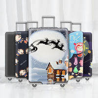 蓓安适Travel abroad suitcase protection trolley case protective cover dust jacket 20/24/26/28 inch