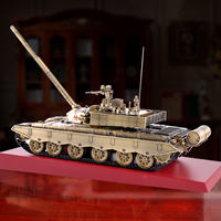 1:30 China 99 type main battle tank model alloy simulation military tank armored vehicle model veteran gift