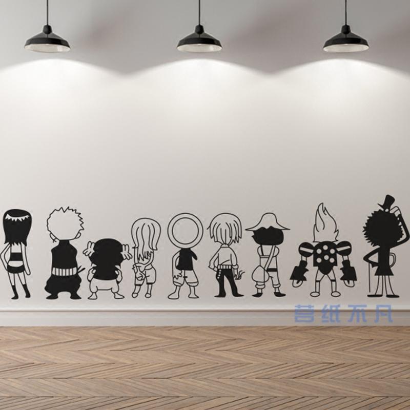 墙纸贴画人物