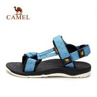 CAMEL 骆驼户外情侣沙滩鞋 男女款防滑耐磨耐穿提花织带运动凉鞋