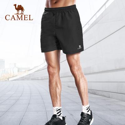 骆驼运动短裤男 夏季宽松休闲裤吸湿透气跑步训练健身速干篮球裤