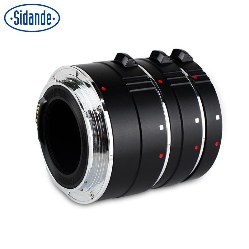 斯丹德环近摄镜接圈 适用EOS佳能接环金属自动对焦转接近拍微距圈单反镜头微摄影附加配件