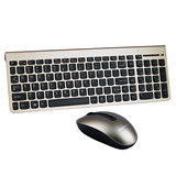 Lenovo KM5922 wireless keyboard and mouse set desktop notebook one machine portable computer mute mouse