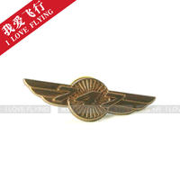 I love flying BOEING Boeing Retro Airplane Wings Badge Aviation Featured Engine Flying Medal