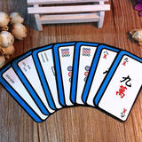 Special offer free shipping household mahjong solitaire card game the second element creative cartoon carton board game mahjong card