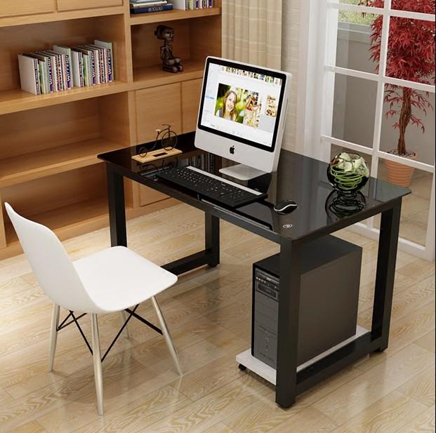玻璃简易电脑桌