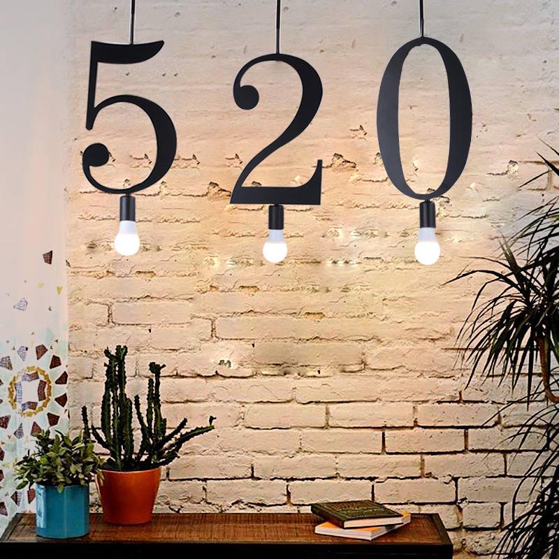 咖啡厅咖啡单吊灯