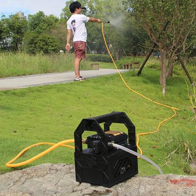 藤原充电式抽水机家用户外小型便携式农用电动打药喷雾器浇菜水泵