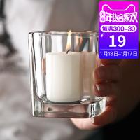 蜡烛杯欧式玻璃蜡烛台简约烛台婚庆摆件酒店路引家居餐厅酒吧烛台