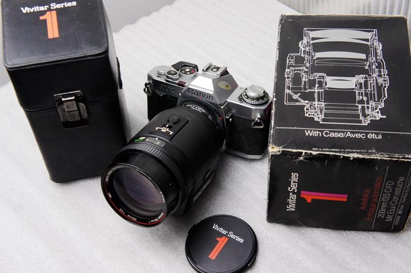 故障:佳能canon AV1 vititar 200/3.5 1号神镜自动对焦电池驱动