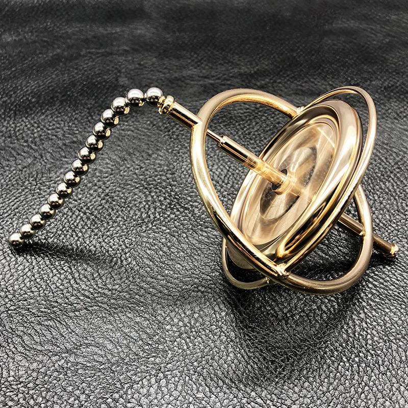 金属陀螺仪反重力成人减压神器科教玩具旋转平衡黑科技机械陀螺仪