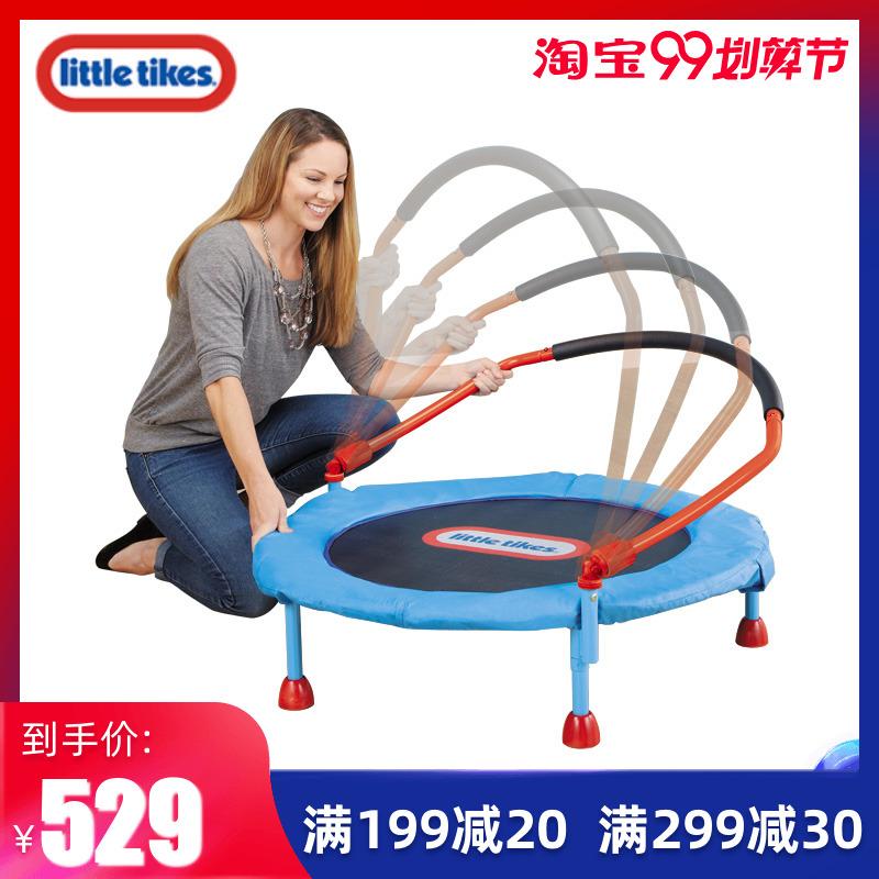 美国进口小泰克欢乐小蹦床室内家用儿童跳床宝宝游乐户外玩具弹跳