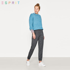ESPRITEDC女装收口九分休闲裤-107CC1B028