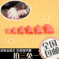 Pet nails set cats and cats decorative nails Dogs nail set of anti-scratch sets Singles buy 20 tablets to send glue