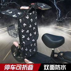 Electric motorcycle wind blockby by the summer sun-proof split-type battery car sunshade thin spring waterproof and rain-proof small