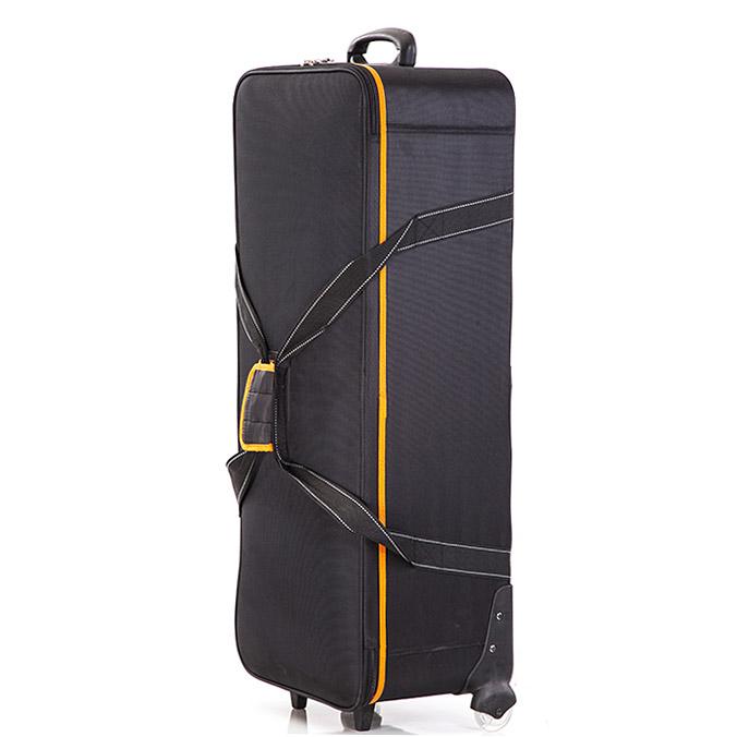 神牛CB-06灯具防护橡胶滑轮便携提手闪光灯保护箱摄影灯拉杆箱包