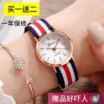 厂家直手表女韩国学生皮带石英表时尚韩版情侣表男女士时装表
