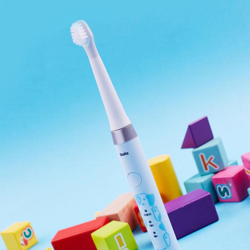 松下儿童电动牙刷细软刷毛声波充电式6-12岁牙刷EW-DM31