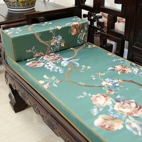 中式古典红木沙发垫罗汉床坐垫实木家具圈椅垫加厚海绵座靠垫定做