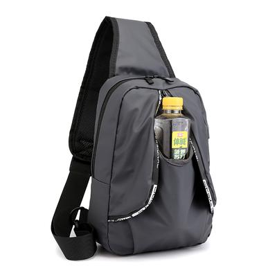 夏季新款男士胸包时尚IPAD平板单肩斜挎包防水运动上班水杯袋背包