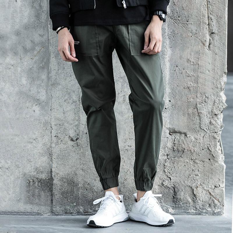 工装小脚锥形小脚裤
