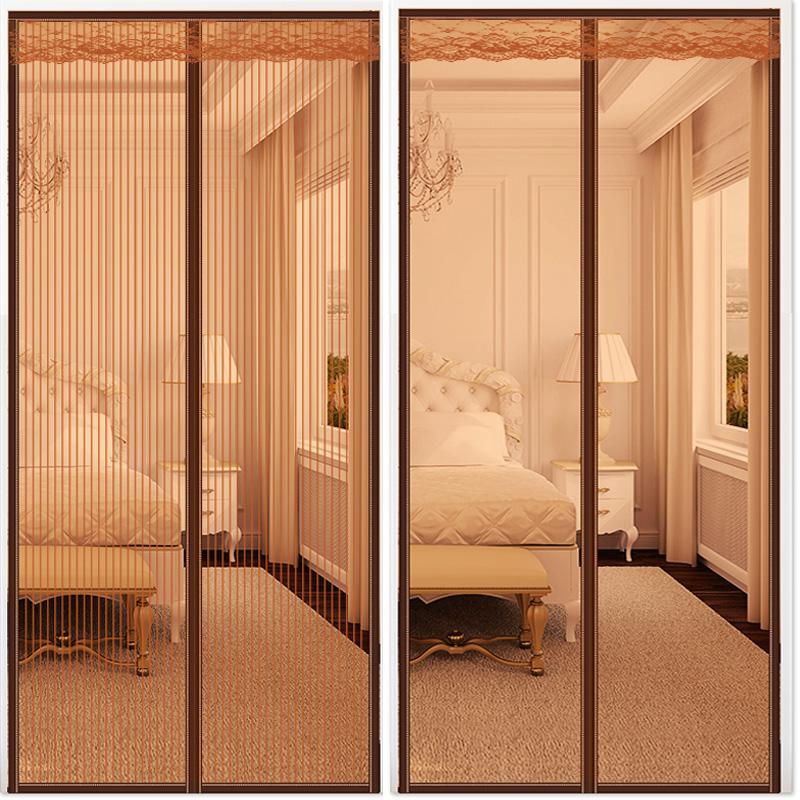 魔术贴防蚊门帘子磁性纱窗网沙窗纱网纱门家用自粘型可拆卸免打孔