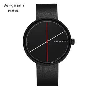 德国Bergmann贝格曼 情侣表中性手表 创意生日礼物男朋友个性礼物