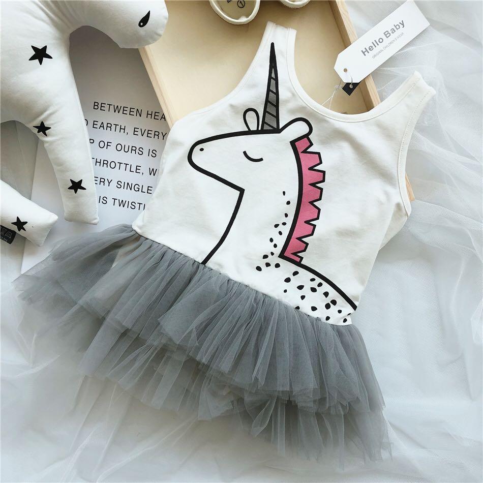 灰色公主公主裙