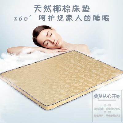 椰棕床垫子1.8m床2米双人棕垫席梦思床垫软硬两用偏硬加厚经济型