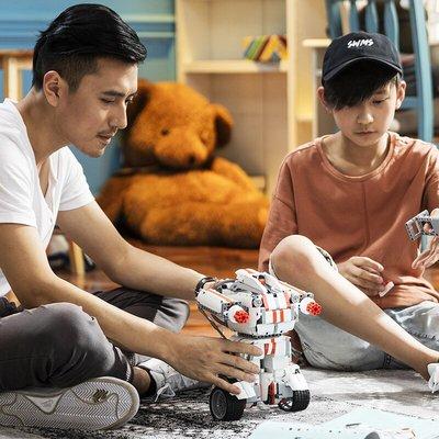 現貨當天發 米兔積木機器人智能益智玩具 小米米兔積木機器人旗艦店
