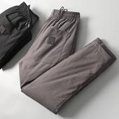 休闲羽绒裤 靠它过冬就够了 冬季高端白鸭绒加厚保暖直筒修身图片