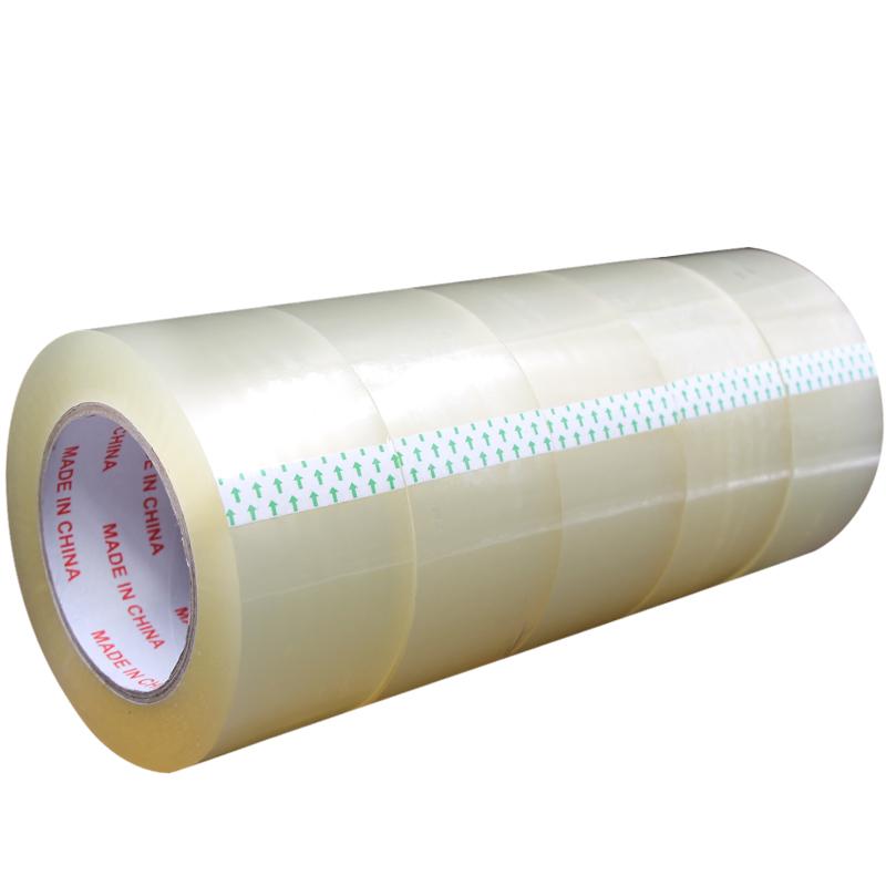透明胶带/封箱胶带批发胶带封箱带宽4.5/4.8/6cm打包胶带胶纸包邮