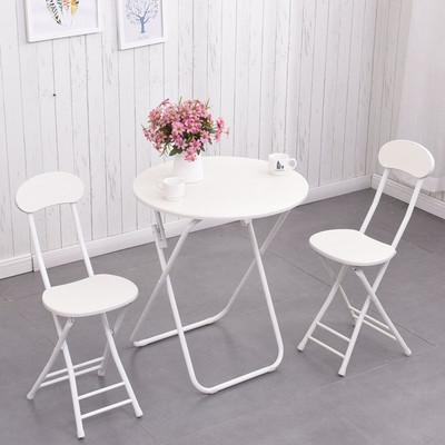 简易折叠桌家用餐桌阳台圆桌户外摆摊桌子简约小圆桌小户型便携桌专卖店