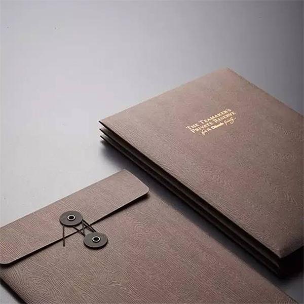 档案袋定制文件袋设计画册档案袋a4文件袋印刷logo封套信封纸