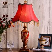wanlang 欧式台灯 新古典后现代婚庆结婚卧室床头装饰台灯 5648H