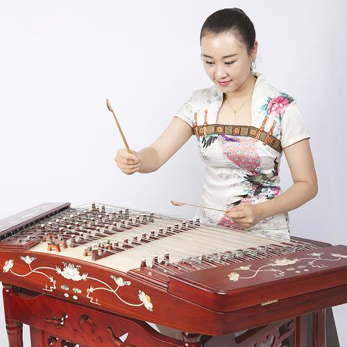 北京星海扬琴乐器专业演奏扬琴402扬琴花梨木非洲紫檀8622L杨琴