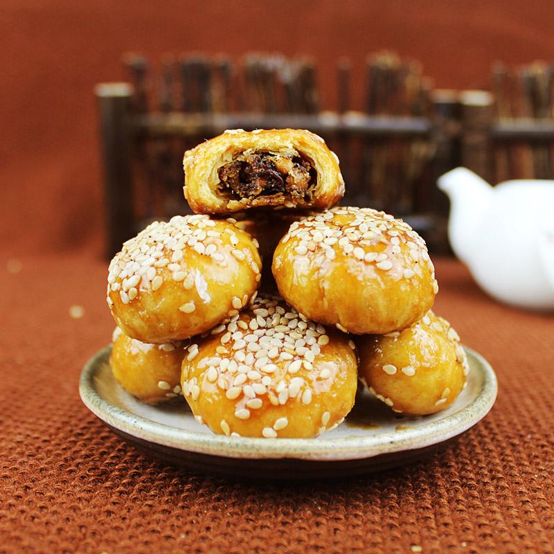 默香金华红糖酥饼网红零食休闲早餐包邮特产小吃梅干菜肉黄山烧饼