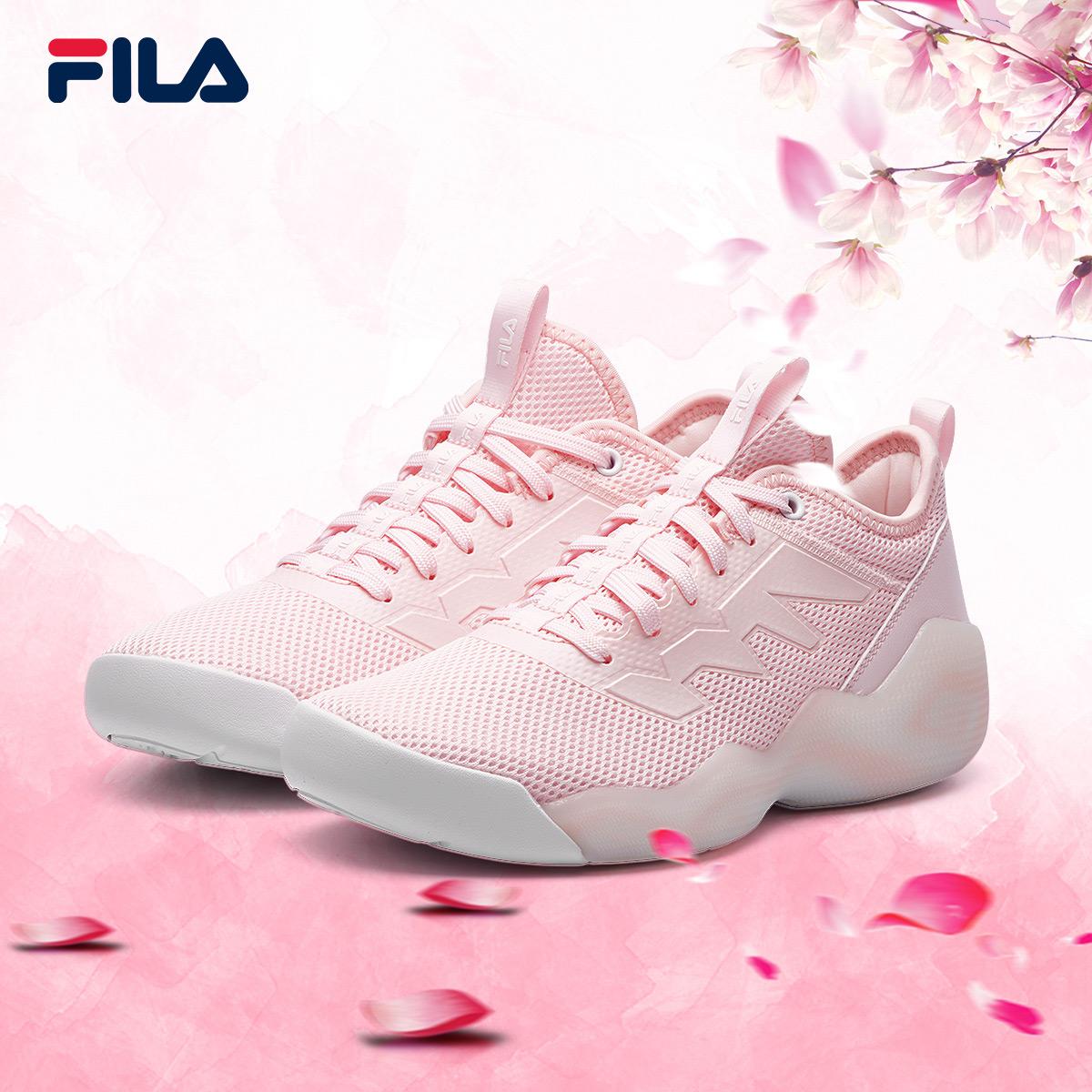 FILA斐乐女鞋BB鞋2018夏季新款经典运动休闲潮范篮球鞋女
