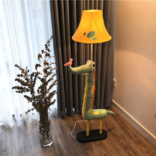 新品 热卖 鳄鱼落地灯创意客厅卧室儿童房床头灯卡通遥控调光台灯
